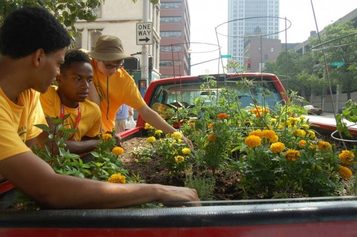 Truck Farm Louisville visits downtown