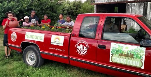 Truck Farm Louisville Planting 2